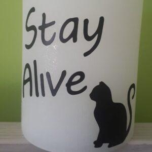 """""""Stay Alive"""" actie"""